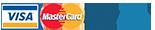 Métodos de pago VISA MasterCard PayPal