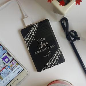 Batería externa - Dale ritmo a tus historias