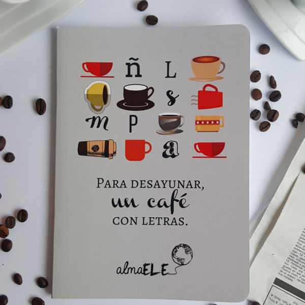 Libreta - Café con letras