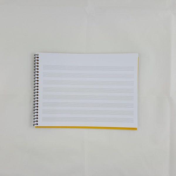 Libreta música - Haz tus subjuntivos indicativos.
