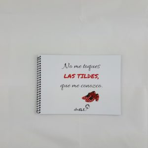 Libreta música - No me toques las tildes