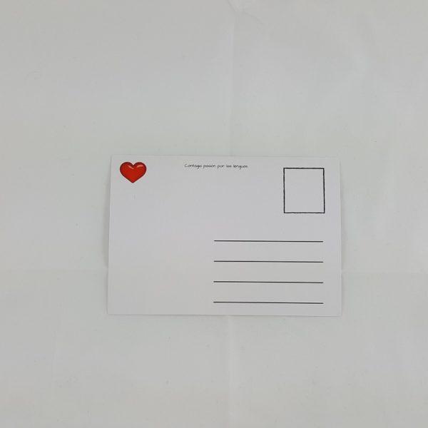 Postal - Te quiero desde...