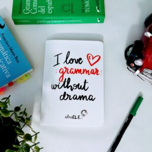 Libreta – I love grammar without drama