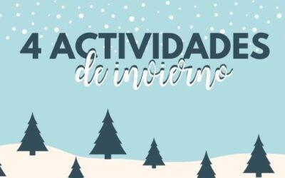 4 ACTIVIDADES DE INVIERNO